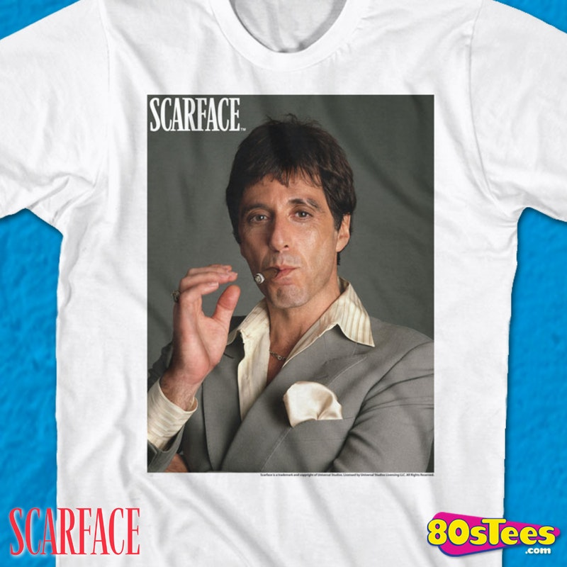 Al pacino scarface t-shirts