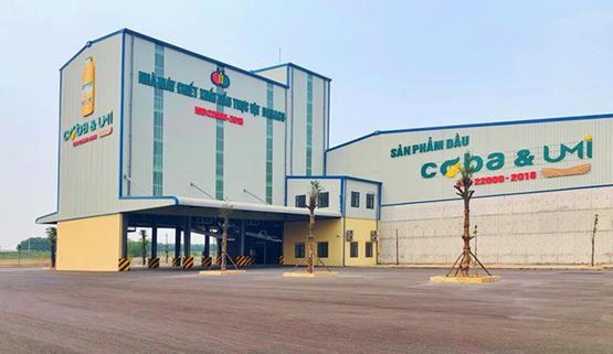 Nhà máy ép dầu thực vật Dabaco