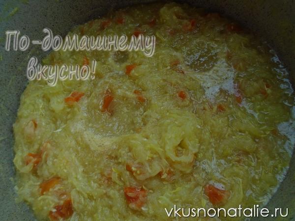варенье из кабачков с лимоном пошаговый рецепт приготовления