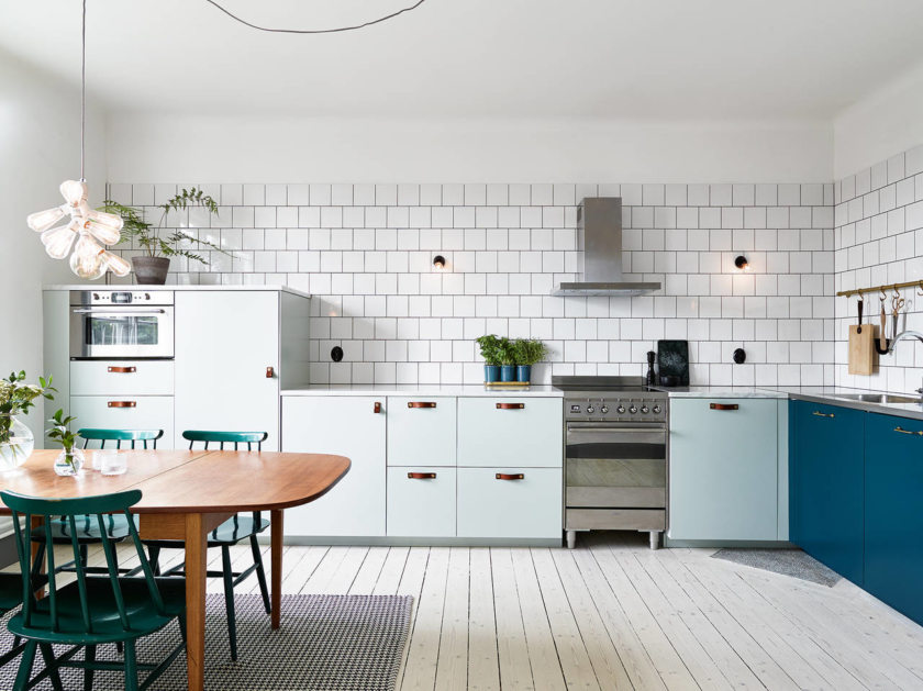Белые кухни икеа в интерьере фото