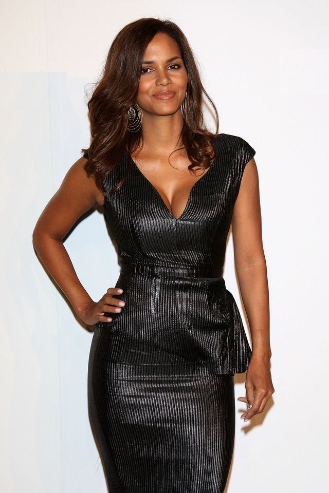 Halle Berry Hot in Black
