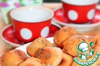 Рецепт: Жареные пирожки Бомбочки на кефире