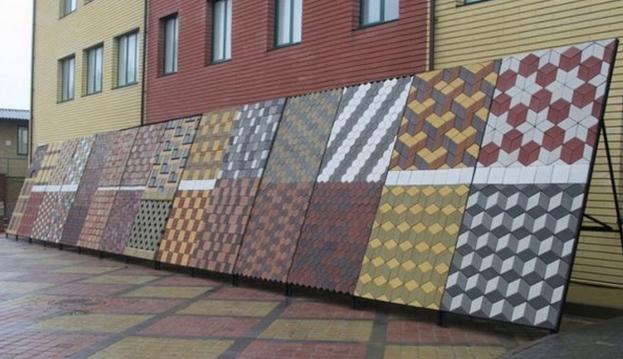 Бизнес тротуарная плитка
