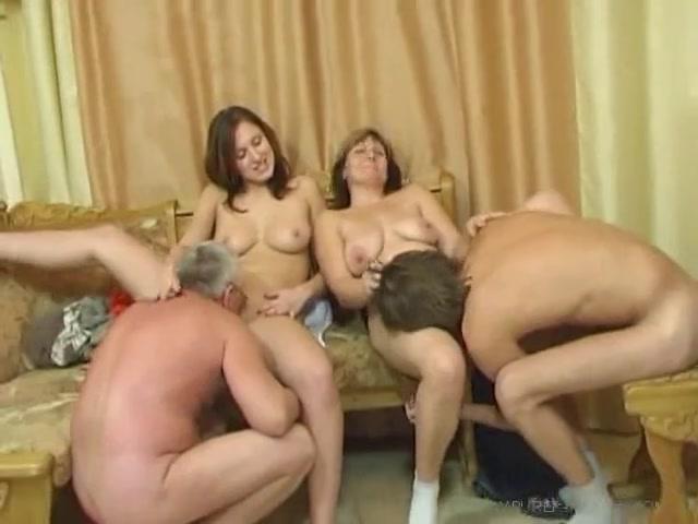 Порно взрослых групповое