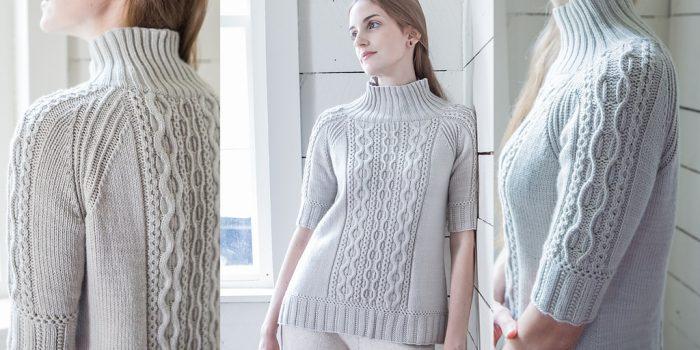 Вязание реглана сверху спицами для женщин