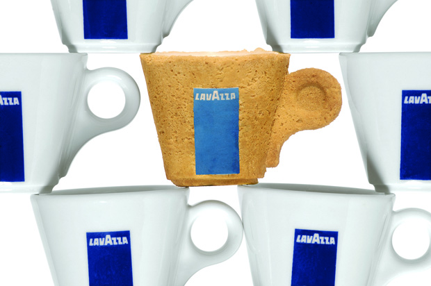 Lavazza jestive šoljice (Copyright Sardi Inovation)