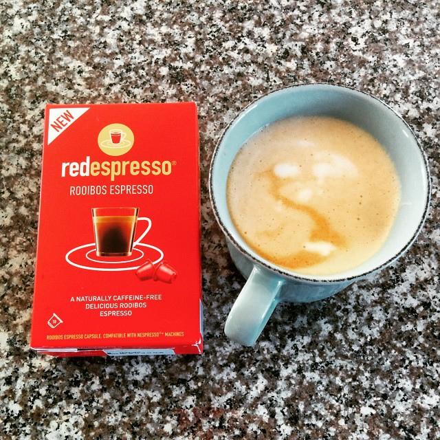 Espresso od crvenog grma