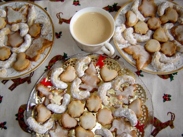 Češki keksi i kafa su odlična kombinacija