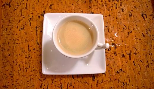 Kafa sa karamel kremom