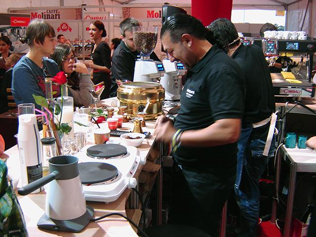 Stavros Lamprinidis CoffeeFest 2014