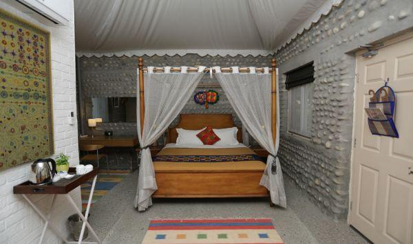 Luxury Cottage 4 Poster Bedroom