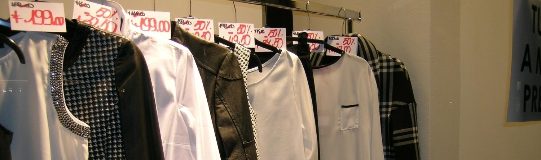Бизнес магазин одежды