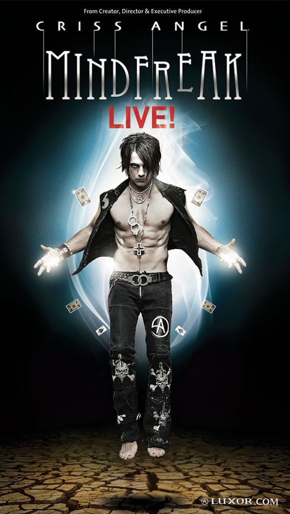 Criss angel believe tour dates