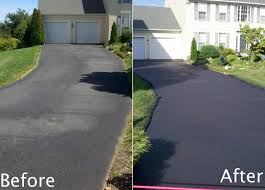 Will driveway sealer cover oil stains