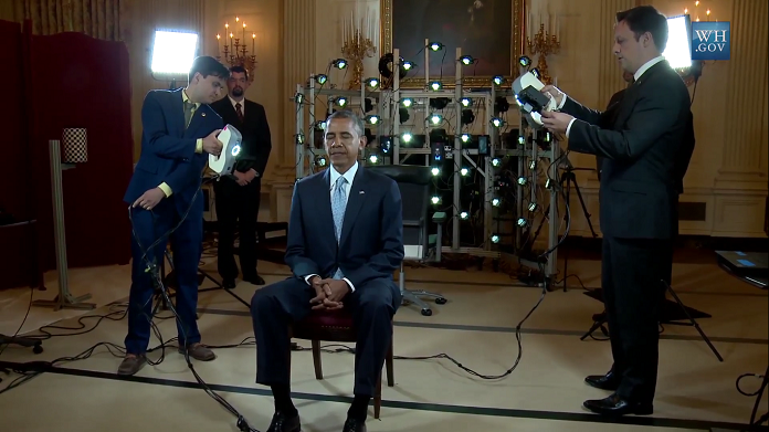 Barack obama 3d printing