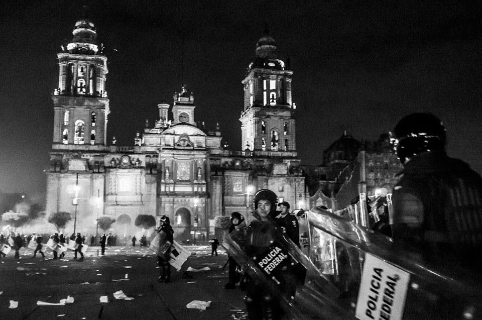 Roberto Flores Buck - fotografía de la catedral de la ciudad de México