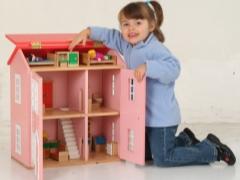 Кукольные домики своими руками из дерева
