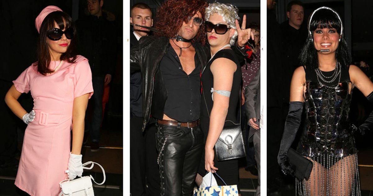 Female dead celebrities fancy dress