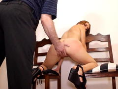 Cocksucking, spanking wife