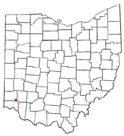 Location of Olde West Chester, Ohio