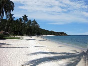 Пляж на о. Панган