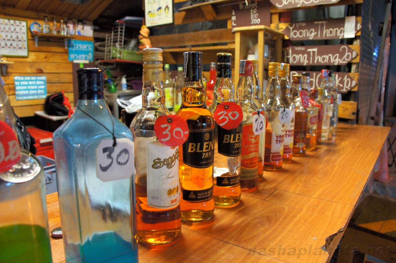 Сколько можно вывезти из тайланда спиртного