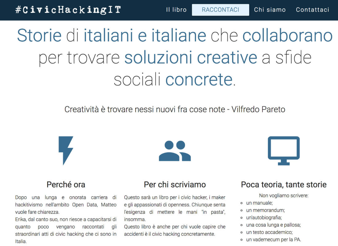 Il sito civichacking.it
