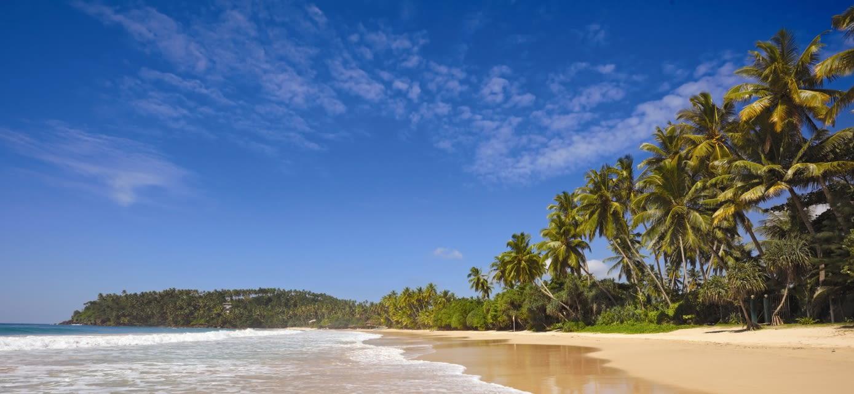 Idyllic beach, Sri Lanka
