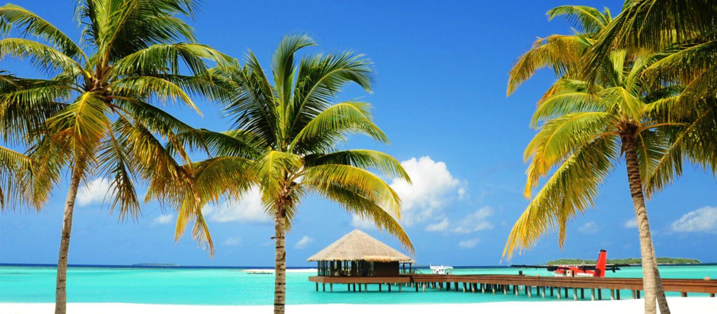 Luxury resorts in the Maldives