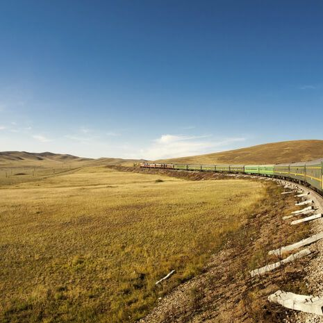 Trans-Siberian Railway - Silver Cabin Eastbound/Westbound