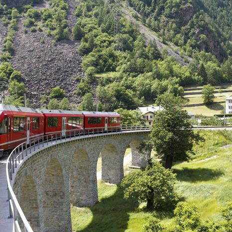 Grand Tour of Switzerland by Rail