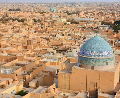 Ancient city of Yazd, Iran