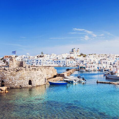 Mykonos, Paros and Santorini