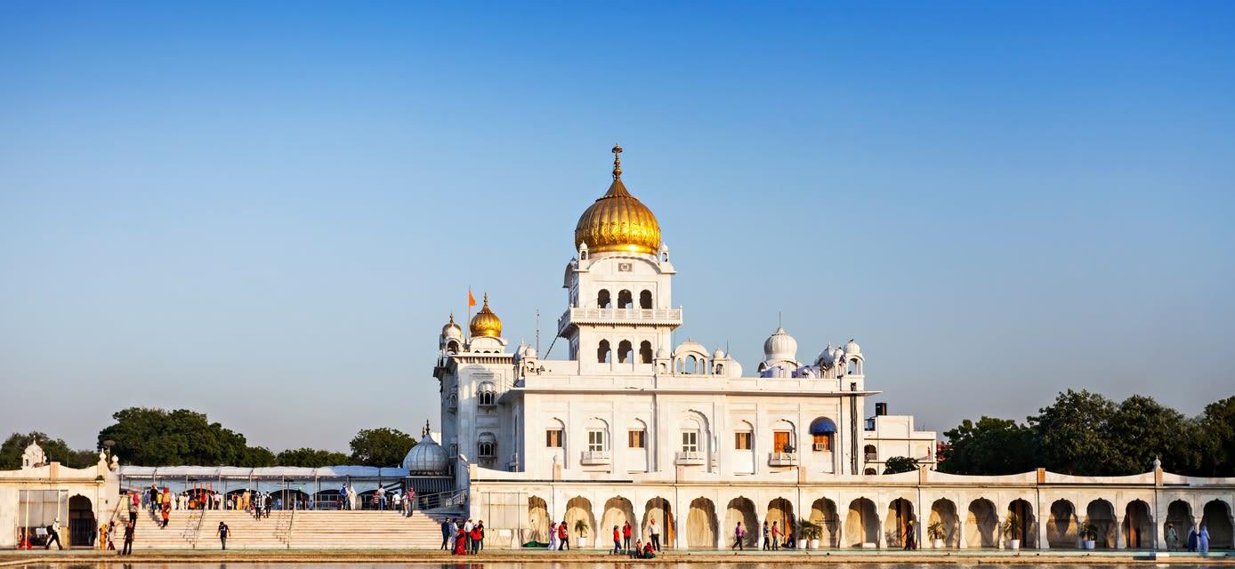 Gurudwara Bangla Sahib, Taste of India Tour