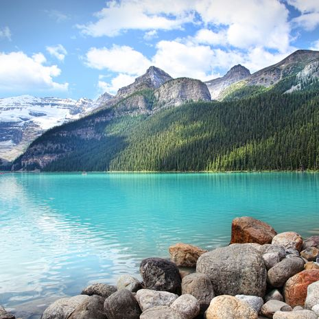 Lake Louise in Banff, Canada