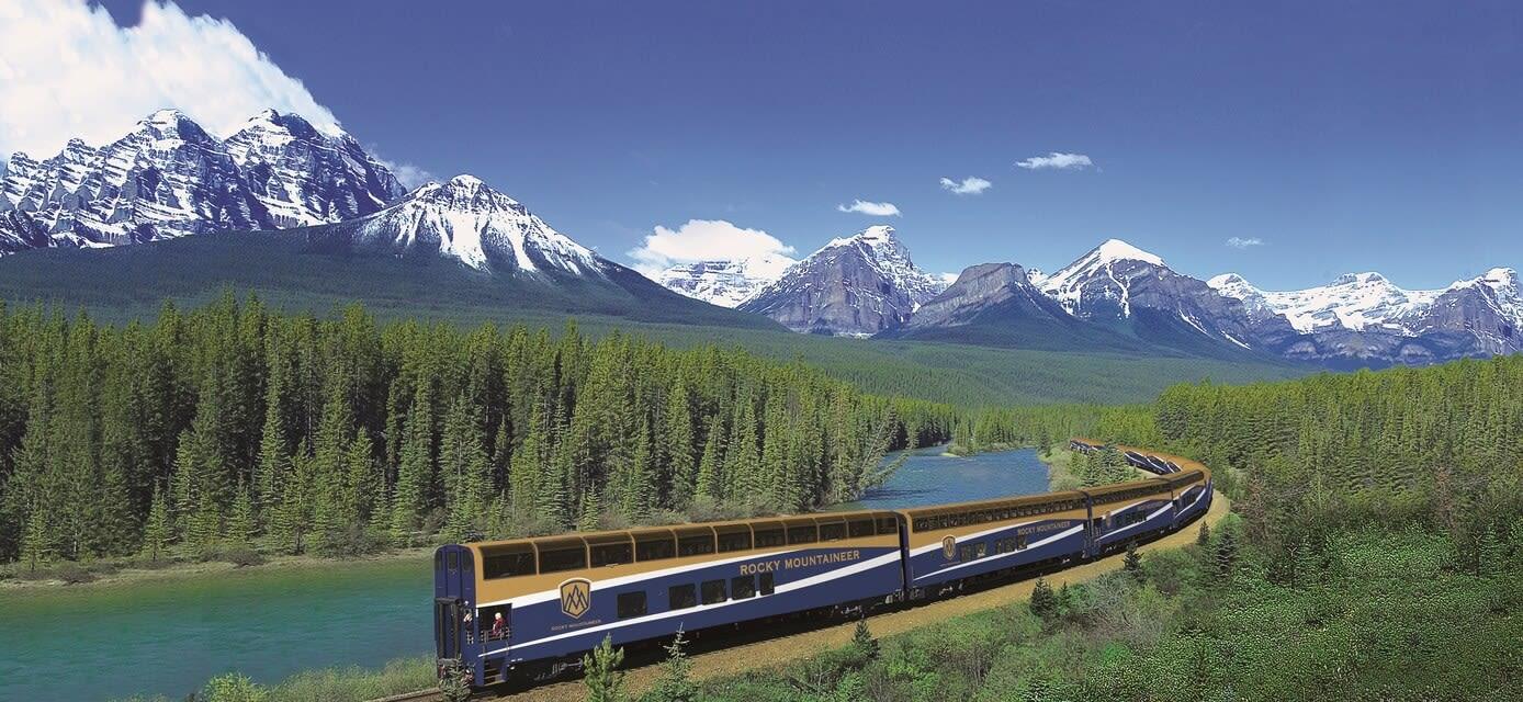 Western Canada on Rocky Mountaineer