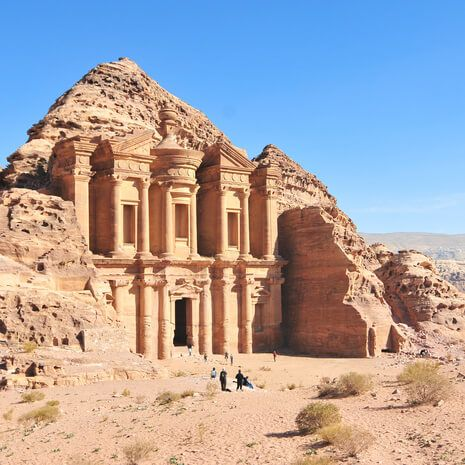 Ad Deir, The Monastery Temple of Petra