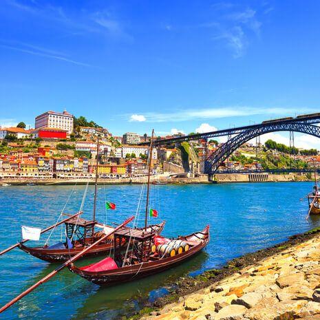 Porto fishing boats