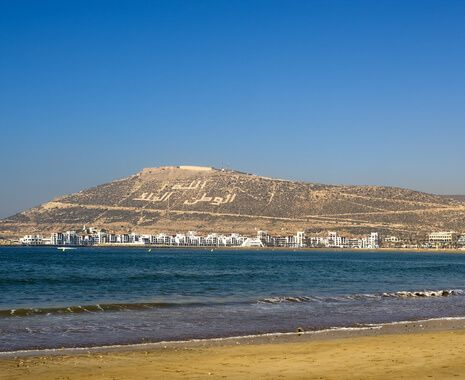 Resort of Agadir, Morocco