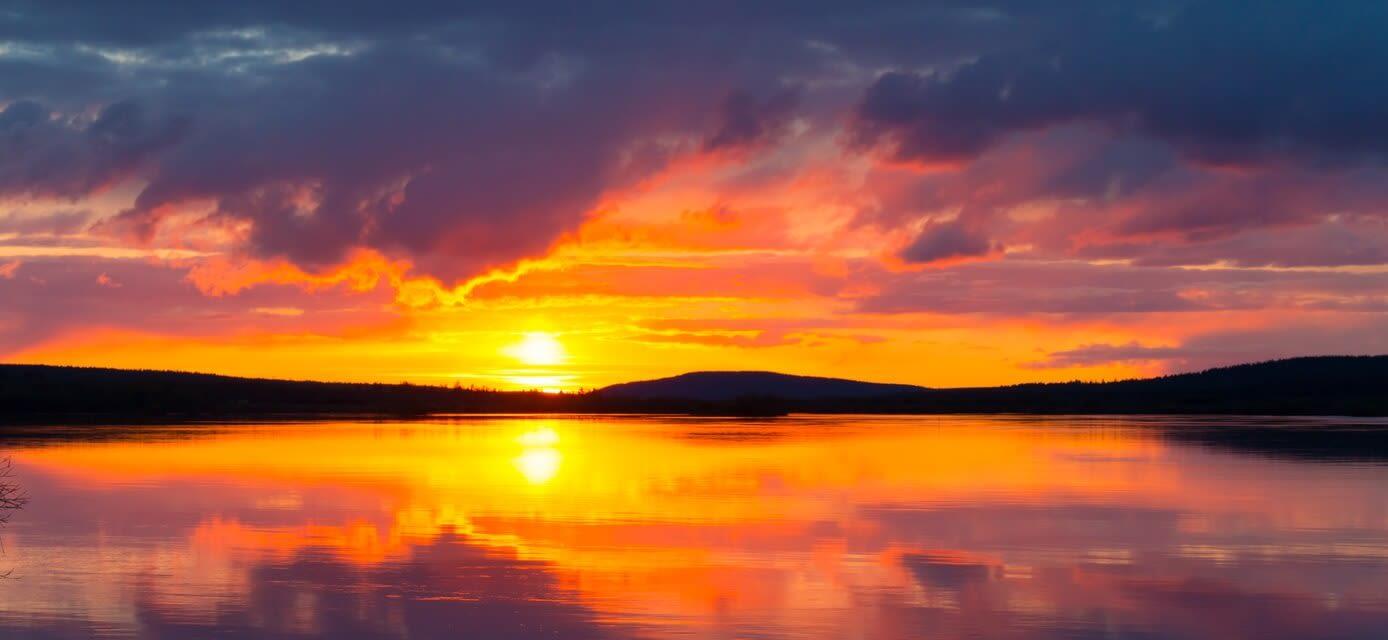 Midnight Sun, Finland