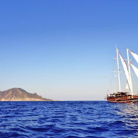 Aeolian Islands Sailing