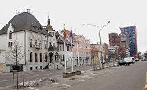 Площадь у самоуправления Клайпеды, архивное фото
