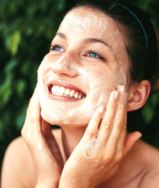 Что будет если лицо умывать мылом лицо