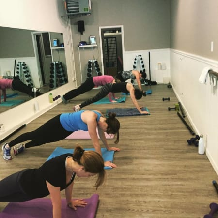 The energia fitness studio has relocated from Division to Main Street in New Rochelle.