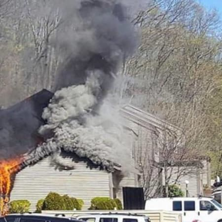 The Bethel, Danbury and Stony Hill fire departments responded to a fire in the Plumtree Heights Condominium complex on Saturday, April 30.