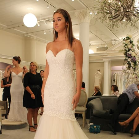 Norwalk resident Alyssa Brezovsky is featured on 'Say Yes to the Dress.""