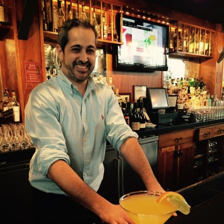 Dominick's Mex-tini at Armonk's Moderne Barn, a new drink made in honor of Cinco de Mayo.