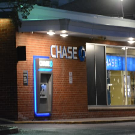 The Chase bank branch in Millwood.