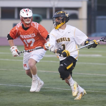 Lakeland/Panas topped Mamaroneck 11-10 Thursday to win the Section 1 Class A lacrosse championship.