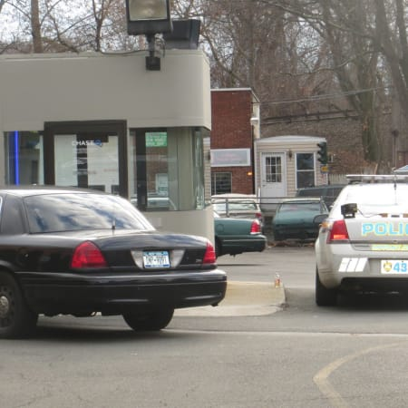 Police from Mount Pleasant, Pleasantville and the Westchester County Department of Public Safety responded to a bank robbery at Chase Bank in Thornwood on Dec. 18. An attempted robbery at the same Chase branch was reported late Tuesday.